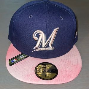 New Era 59Fifty Milwaukee Brewers Fitted Hat